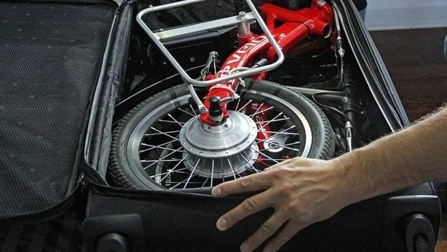569ef1b06b スーツケースで運べる電動アシスト自転車「FLEX」 | antenna*[アンテナ]