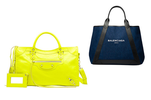 official photos 9f5c5 fd9c9 バレンシアガのアイコンバッグに新色。限定バッグも手に入る新宿 ...
