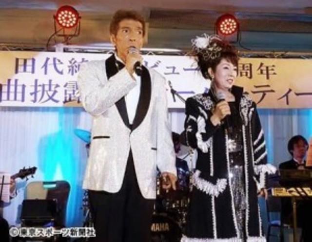 ゴージャス松野\u201c妻\u201d田代純子の新曲が話題「二人三脚でもうひと花