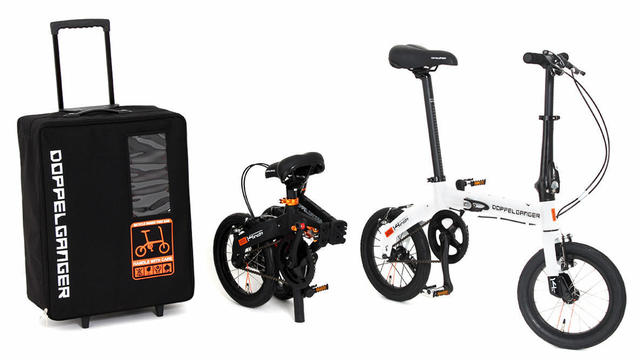 e121e556fd 5279535 wide 0f8c116c 66cd 4552 ac57 a30917bcbf59. 旅先でのサイクリングにおすすめ。付属のスーツケース で運べる折りたたみ自転車