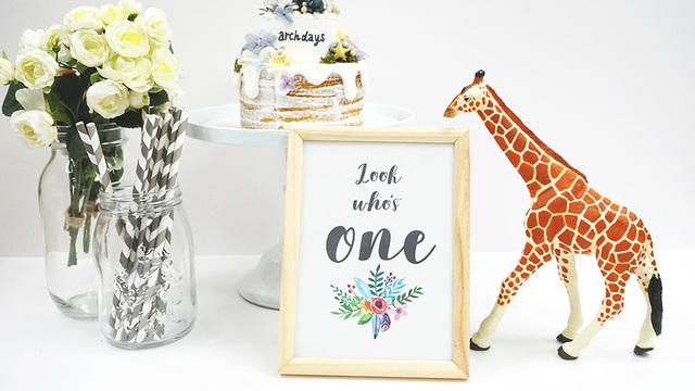 誕生日の飾り付けに花文字フォントのガーランドを無料ダウンロード