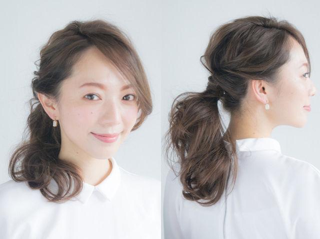 前髪 一 つ 結び 前髪なしの可愛いポニーテール・一つ結びのアレンジ15選 編み込み前髪も