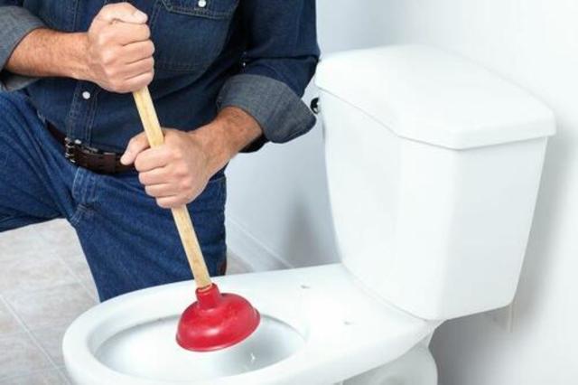 た トイレ スッポン 詰まっ